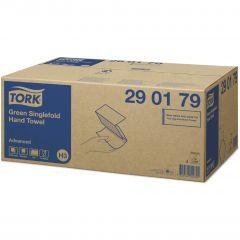 -60 Advanced полотенца. Singlefold сл. ZZ зеленые, 2 сл, 250 шт/уп,25*23см