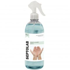 """Жидкость-санайзер для дезинфекции рук """"IPC Septolab"""" спрей 0,5 л,65% изопр.спирт/12"""