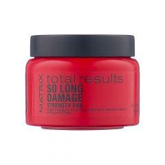 Маска Total Results So Long Damage для поврежденных волос 150 мл, Matrix, с керамидами, интенсивное питание, снижение ломкости волос