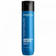 Шампунь Total Results Moisture Me Rich для увлажнения волос 300 мл, Matrix, с глицерином, придает мягкость, для сухих волос