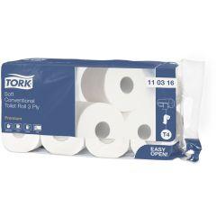 -61 Т/бумага Premium 3сл, 250 л/рул,29,5 м, белый, с тисн.,8рул/уп.,29,5х9,4