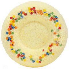 Бурлящий шар для ванн Медовый пончик  60 г