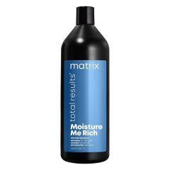 Шампунь Total Results Moisture Me Rich для увлажнения волос 1000 мл, Matrix, с глицерином, придает мягкость, для сухих волос