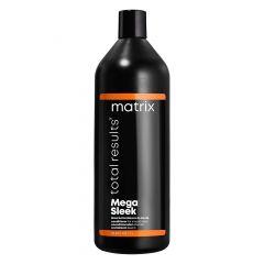 Кондиционер Total Results Mega Sleek для гладкости волос 1000 мл, Matrix, с маслом ши, устраняет пушистость, для непослушных волос