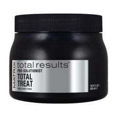 Крем-маска Pro Solutionist Total Treat для экспресс-восстановления волос 500 мл, Matrix, с протеинами и маслами, интенсивно увлажняет и смягчает
