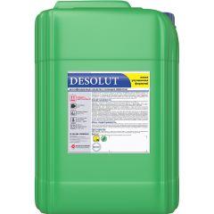 DESOLUT Беспенное дезинфицирующее средство на основе акт. хлора.5л Обладает  высокой дезинф.спос-тью