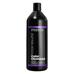 Кондиционер Total Results Color Obsessed для окрашенных волос, 1000 мл, Matrix, с антиоксидантами, сохраняет яркость цвета