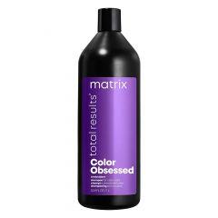 Шампунь Total Results Color Obsessed для окрашенных волос, 1000 мл, Matrix, с антиоксидантами, сохраняет яркость цвета